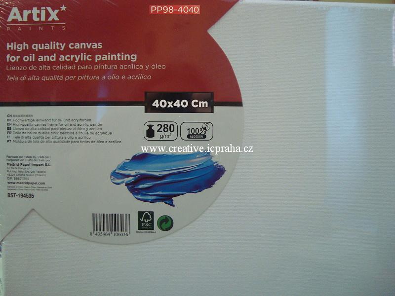 plátno v rámu 40x40cm ArtixPaints