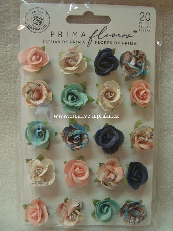 kytičky PM 20ks - Capri flowers barvy