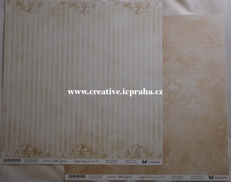 ScrapAndMe SimpleStory3  09/10 30.5x30.5cm 250g/m2