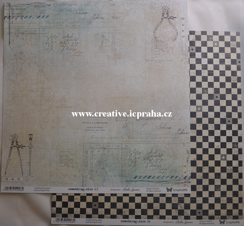 ScrapAndMe S.ThingElse 03/04 30.5x30.5cm 250g/m2