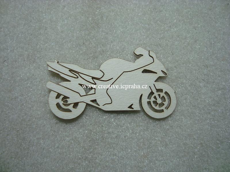výřezy motocykl 3ks 6x3cm