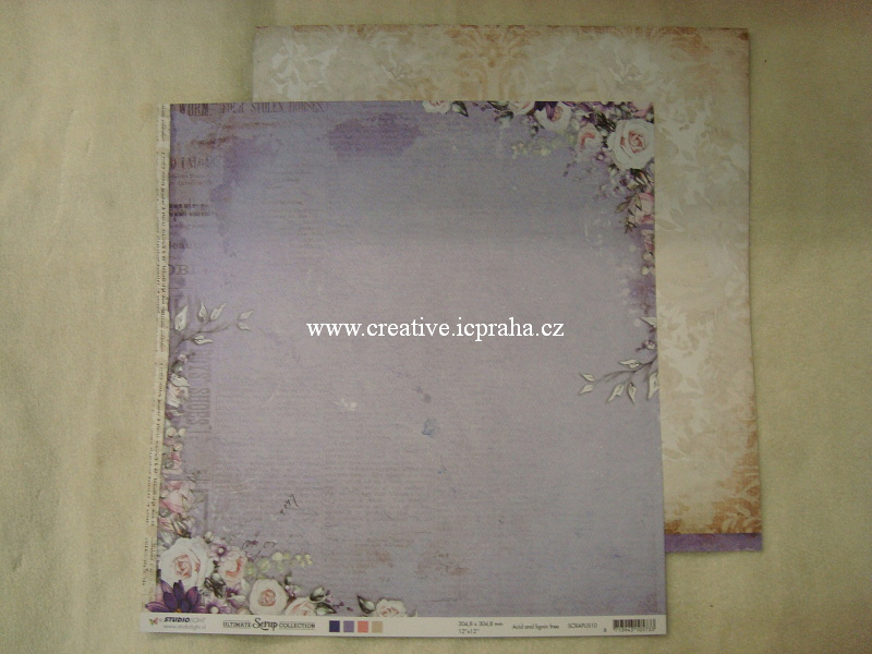 StudioLight - Ultimate Srap - Růže v rozích30,5cm