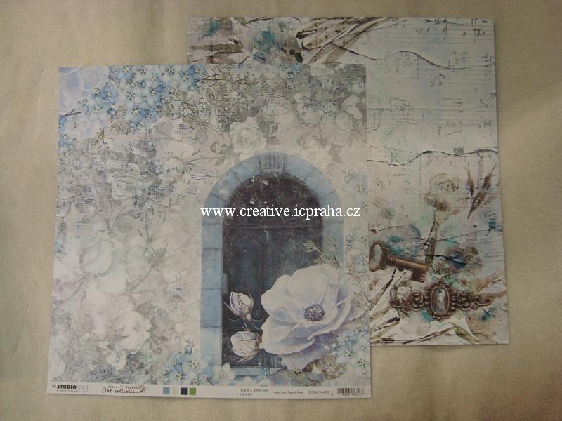StudioLight - Jenine´s - Modrá 30,5x30,5cm