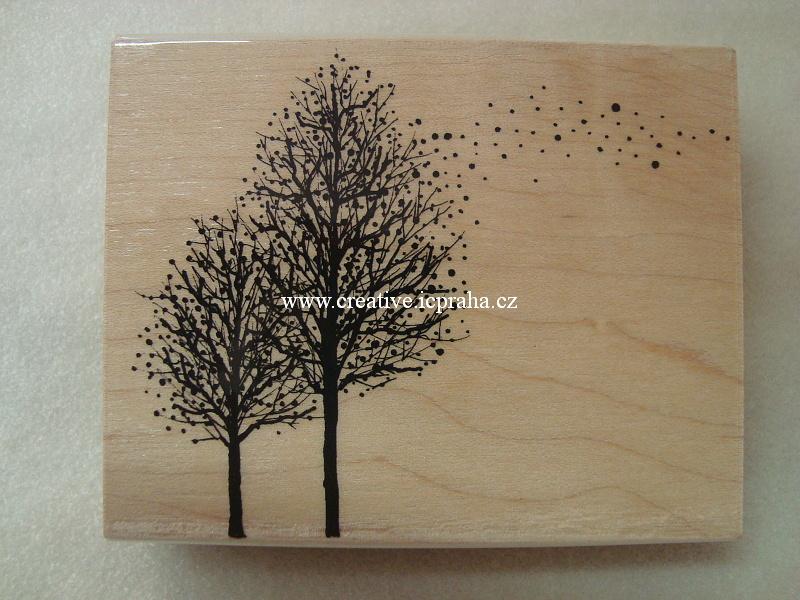 raz. dřevěné Penny Bl. - Sněží na stromy 8,5x10,5c