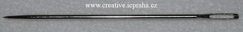 jehla kovová 2,4x100mm