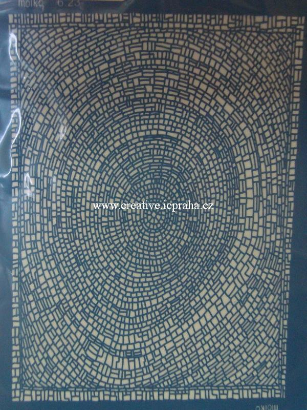 Silk screen šablona