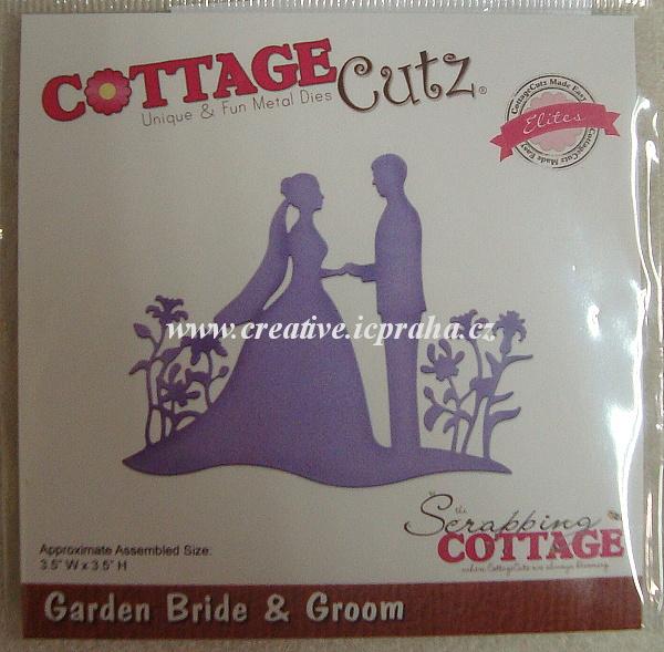 vyřezávací šablona  COTTA Cutz Ženich a nevěsta II