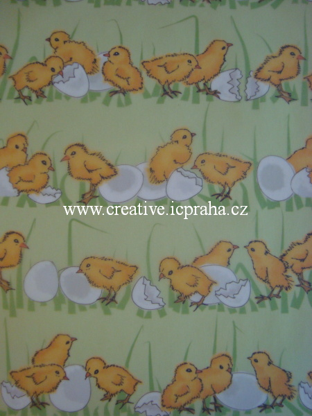 transp.papír A4 - kuřátka/SLEVA