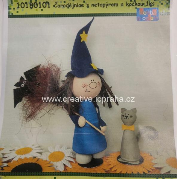skládačka čarodějnice figurka 29cm 10180101