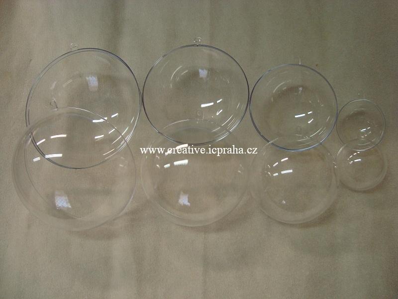 plast - koule 6cm 2 dílná