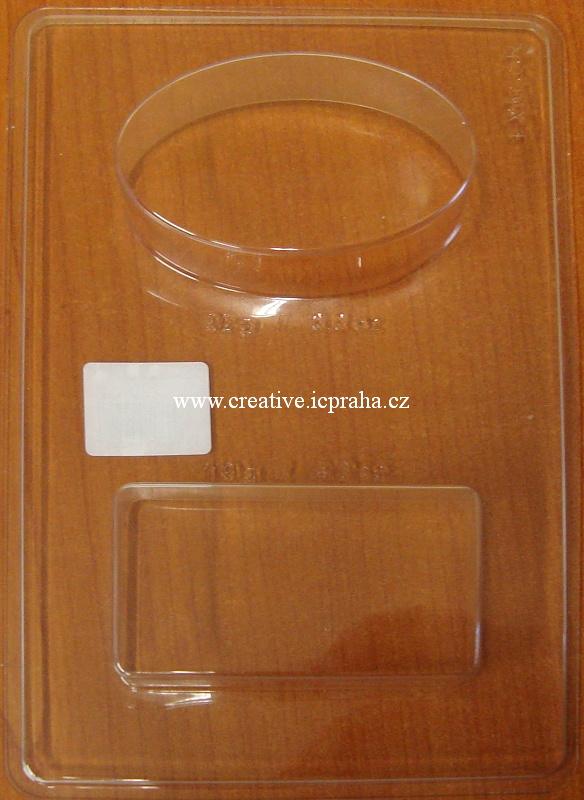 forma jednodilna ovál-obdélník 92g/119g