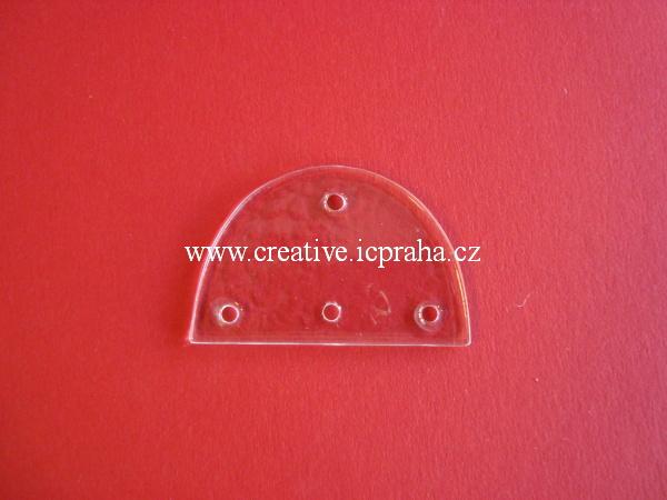 závěs více děr A10 - oblouk 4 díry