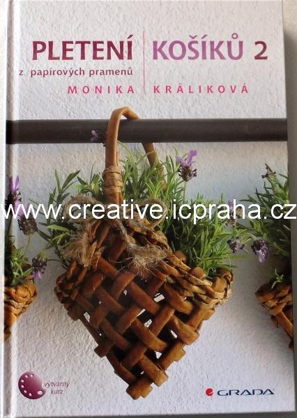 Pletení košíků z papír. pramenů 2 - M.Králiková