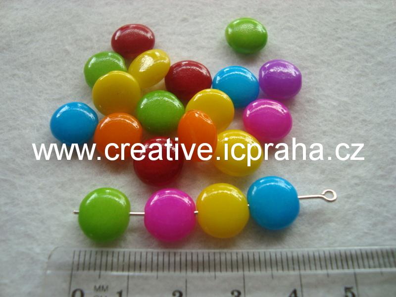 lentilky - crazy beads 10mm bal. 20ks