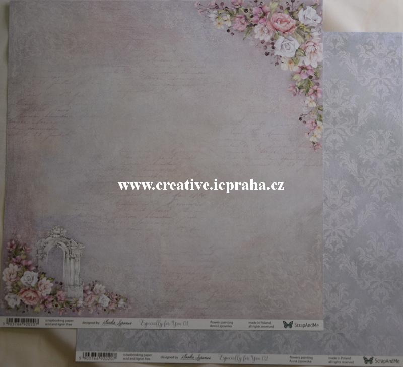 ScrapAndMe EForyou EFY01/02 30.5x30.5cm 250g/m2