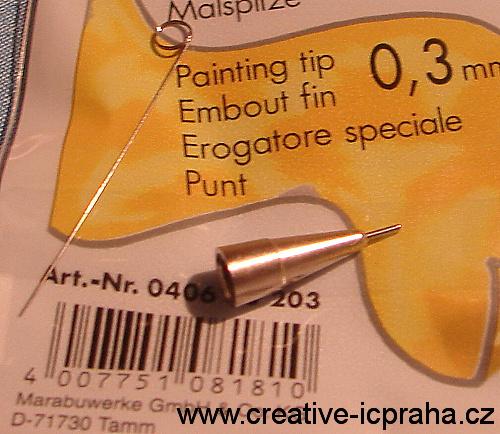 kovový hrot 0,3mm