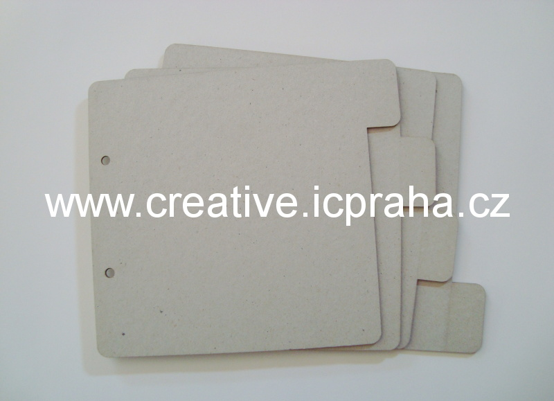 Minialbum - 4listy - obdelník 18x16cm