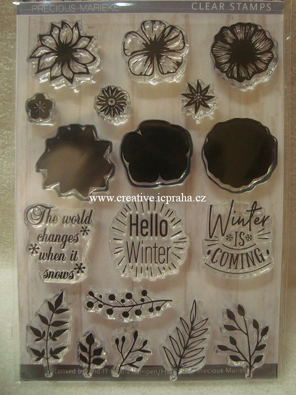 clear stamp Find IT - Hello Winter 18ks