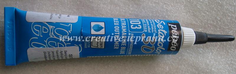 Setacolor 3D phosph.Ultramarine 557103