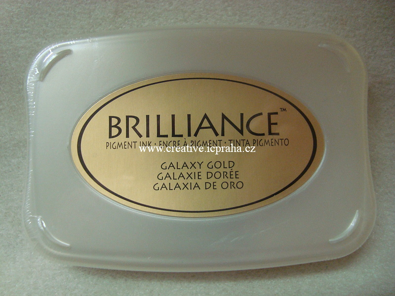 Brilliance - pigmentový polšt.zlatý