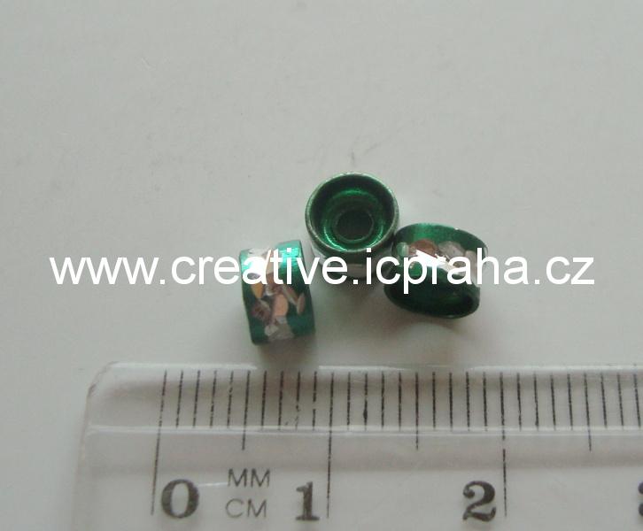 rondelka - zelená