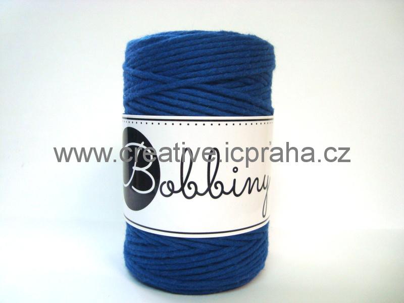 BobbinyMacrame Baby100m/1,5mm - Modrá Classic