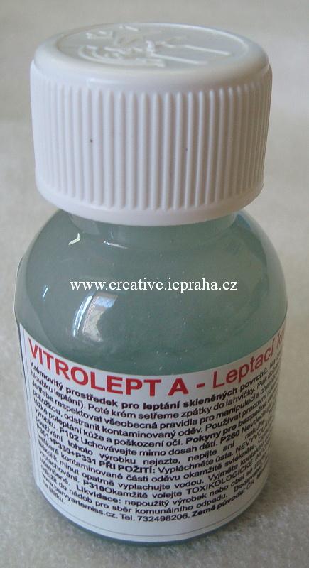 leptací krém na sklo - VITROLEPT 70g