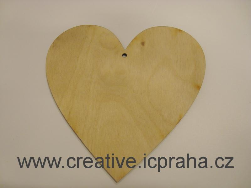 podložka srdce cca 15cm