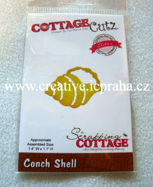 vyřezávací šablona  COTTAGE Cutz Mušle CCE269