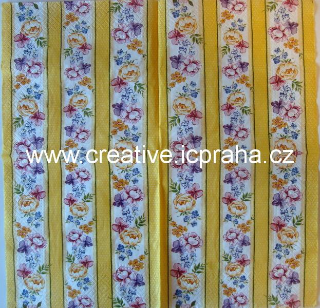 květinové bordury MAKI
