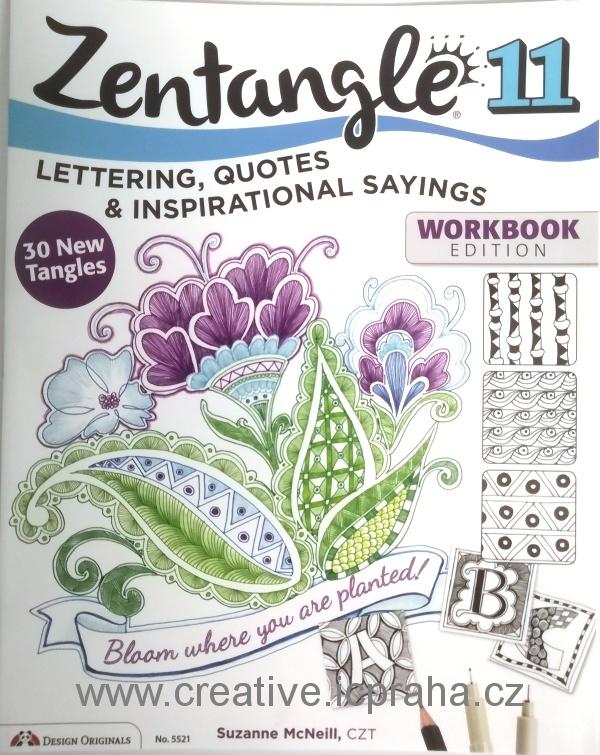 Zentangle  - omalovánky , inspirace