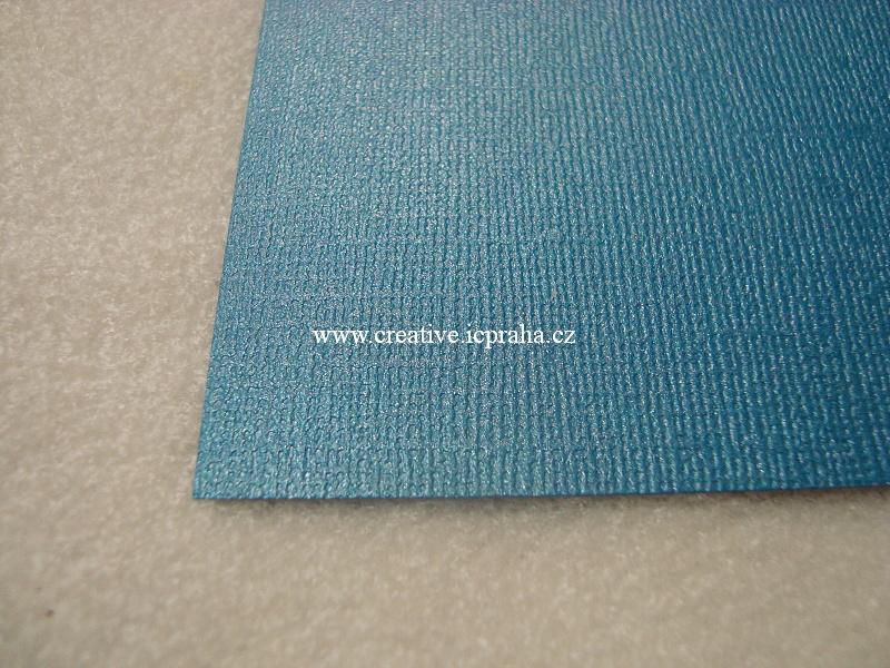 perleťový papír- struktura A4 220g/m2 - Petrolejov