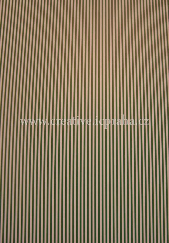 karton 200g/m2 A4 zelený proužk.  He4774637