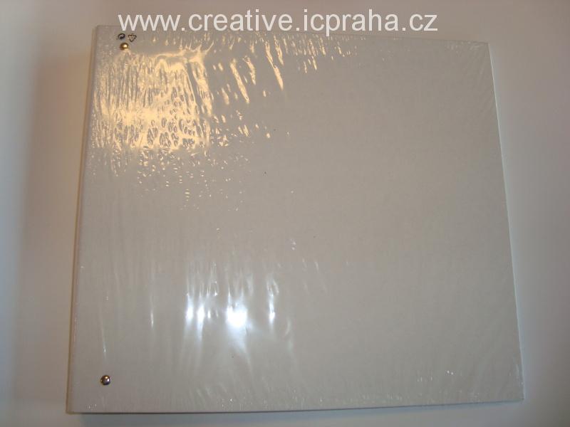 album desky 36,5x32,5x4  bílá  F68200