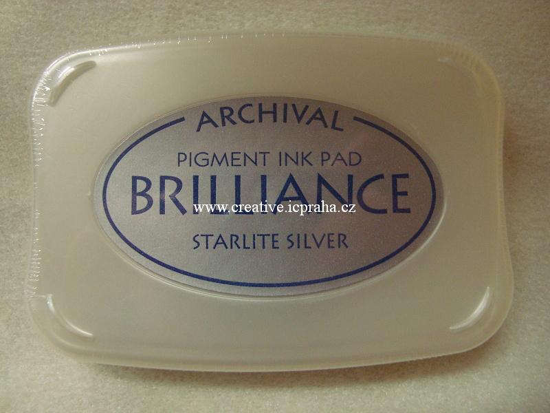 Brilliance - pigmentový polšt.stříbrný