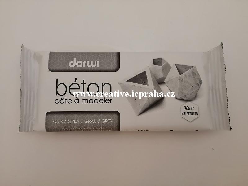 DARWI Beton samotvrdnoucí 500g - šedá