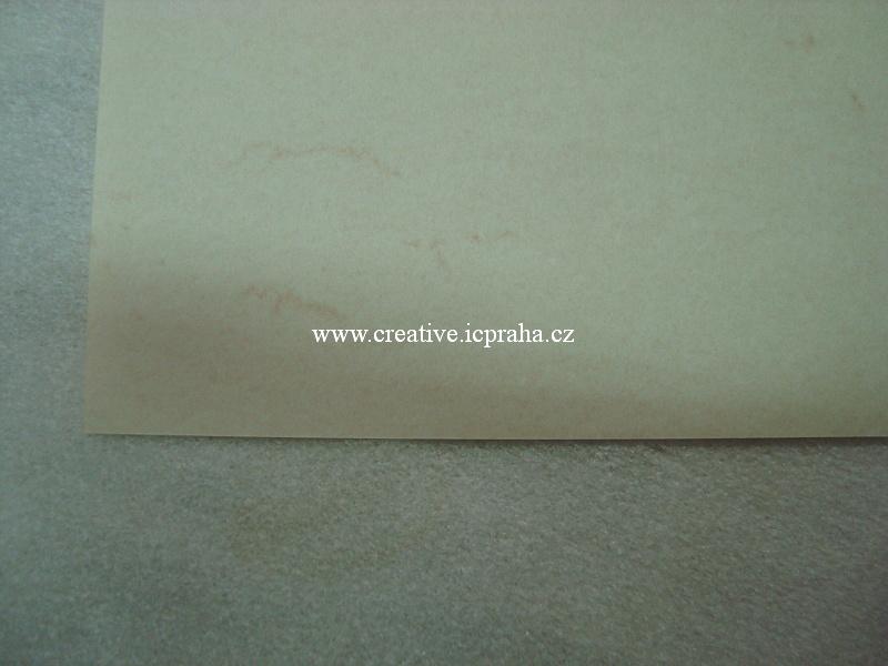 papír A4 mramorovaný 110g/m2 - krémový