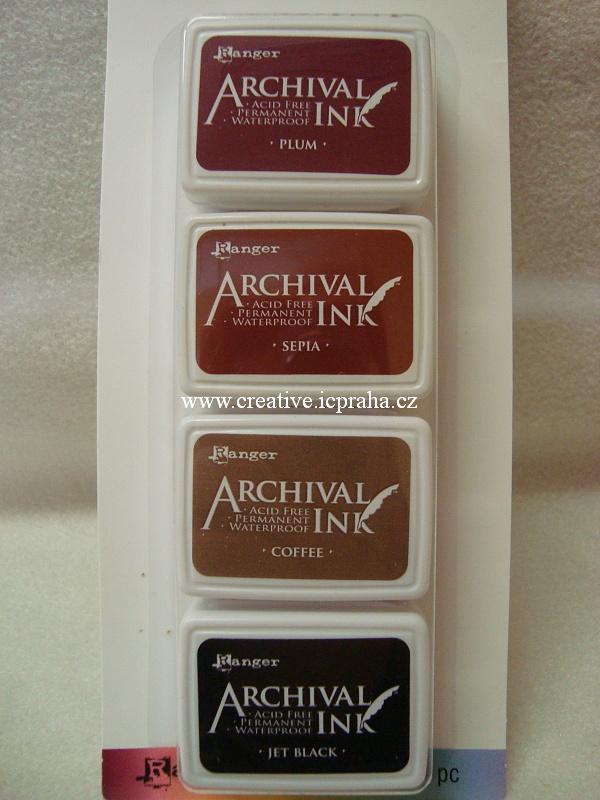 Archival Ink KIT - 4barvy