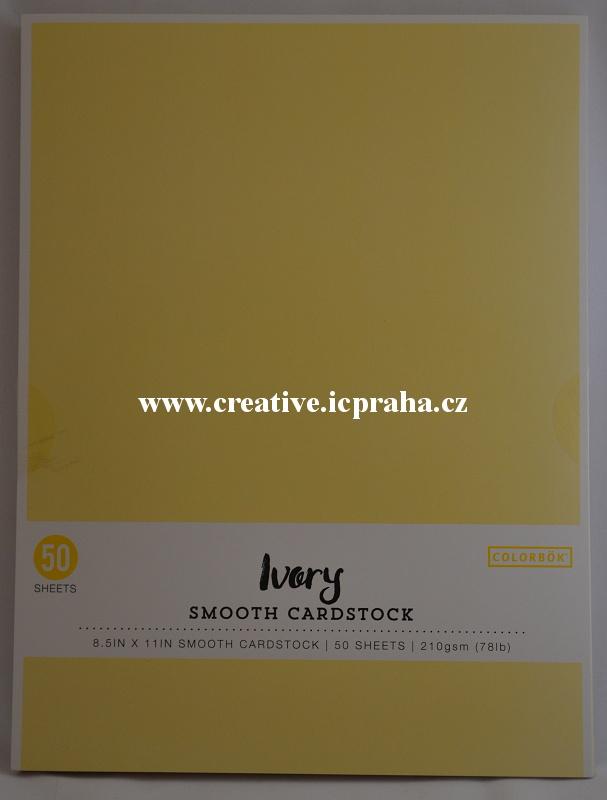 tónkarton A4 210g/m2 - 50ks Ivory