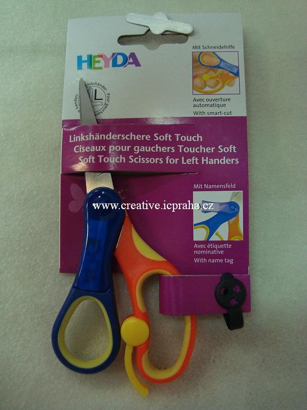 nůžky dětské pro leváky/špičaté