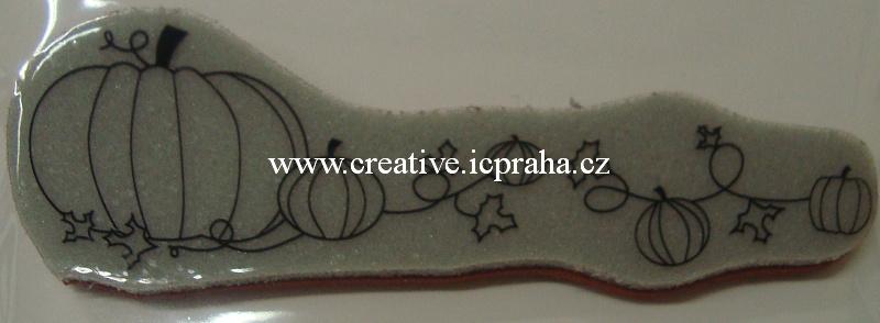 razítka Cling Memory Box - Dýně girlanda -11x3,5cm