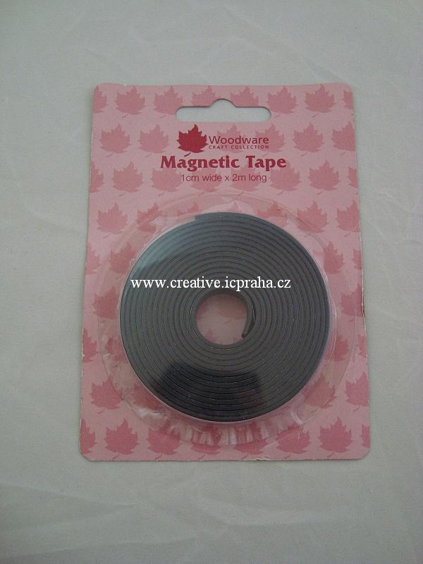 magnetická páska samolep.-1bal.1cm/2m