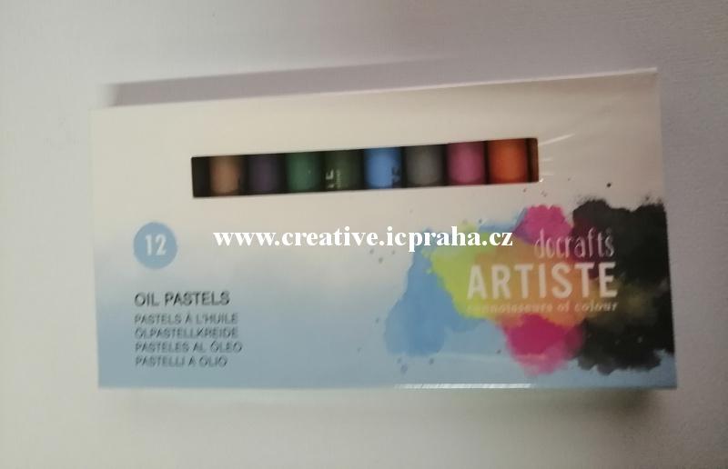 pastely olejové 12ks - Artiste Docrafts