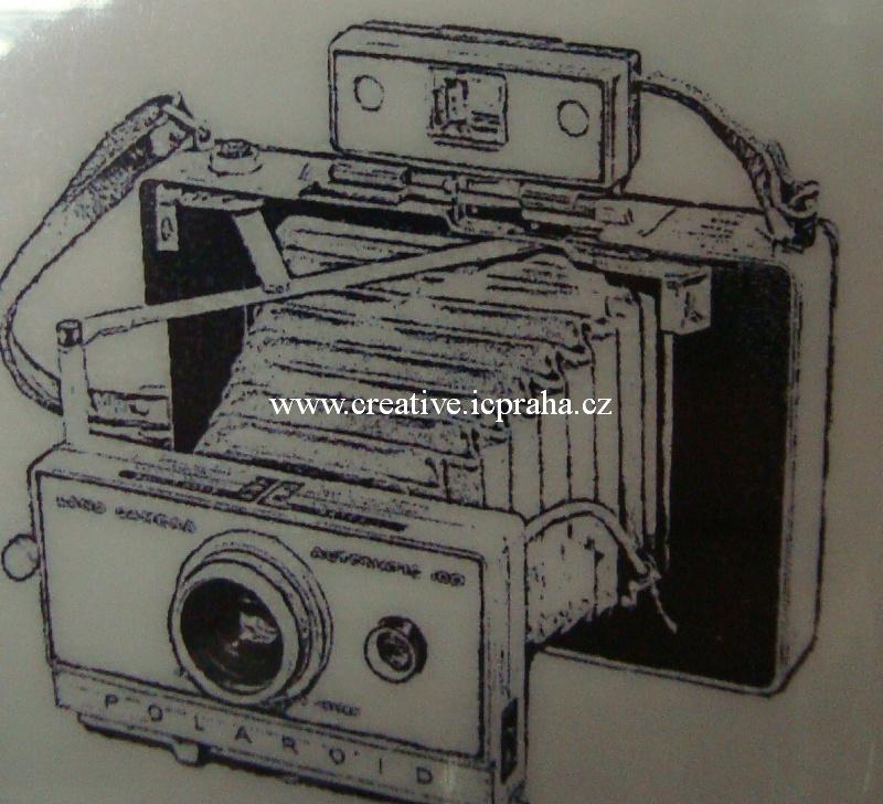razítka Cling Red - Polaroid 5,5x5cm
