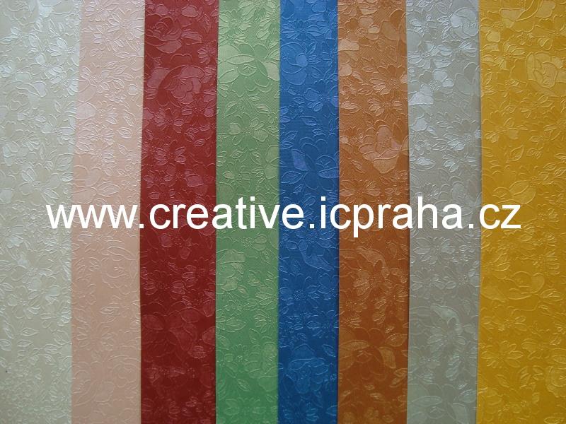 ražený papír 230g/m2 23x33cm