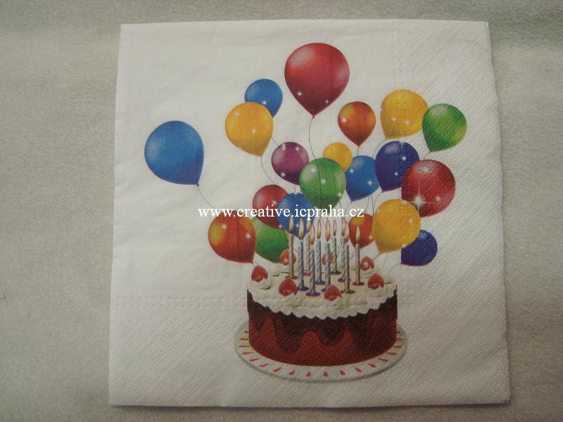 narozeninový dort TETE PAW