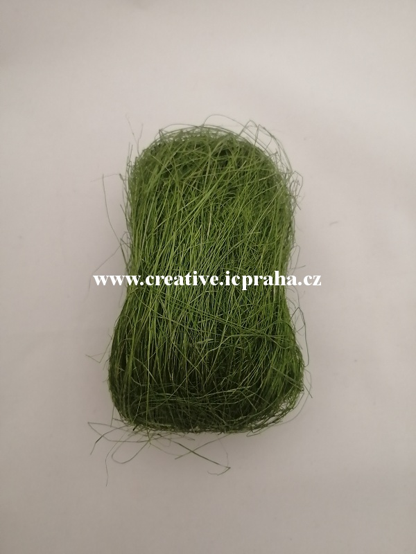 decor.vlasy/kokos cca 25g tm.zelená