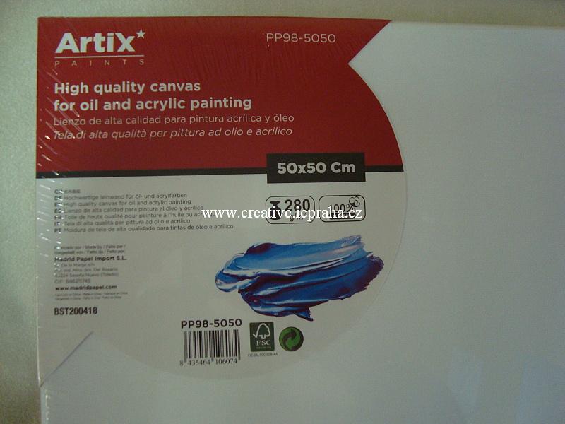 plátno v rámu 50x50cm ArtixPaints