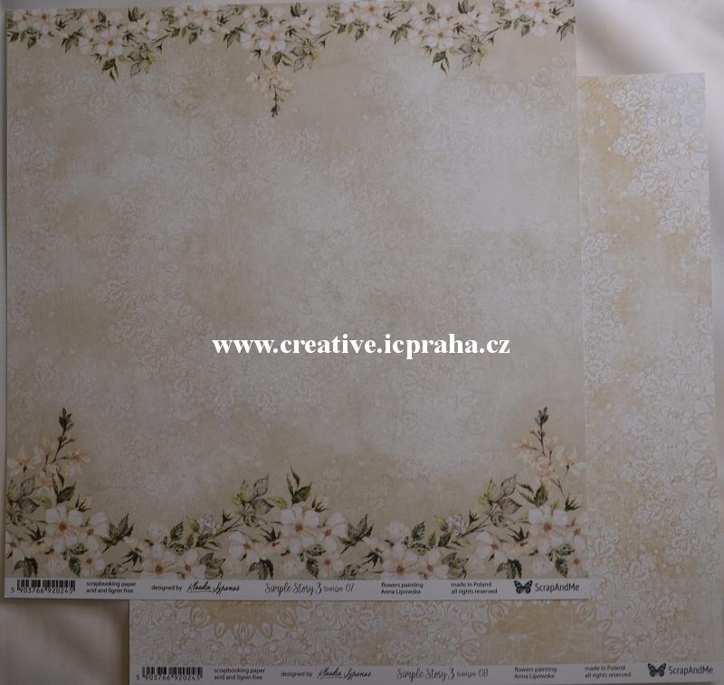 ScrapAndMe SimpleStory3  07/08 30.5x30.5cm 250g/m2