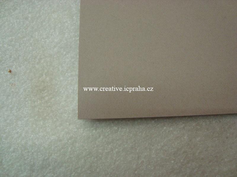 papír A4 120g/m2 - hnědá sv.